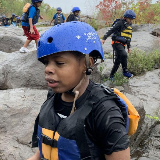 Boys Raft & Ropes Course